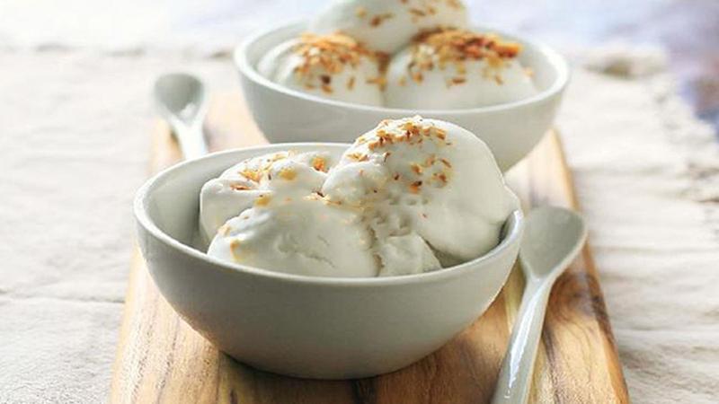 Kem dừa sáp