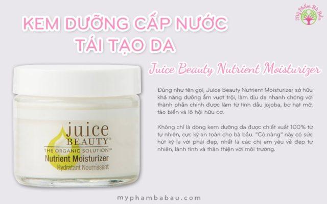 Kem dưỡng Juice Beauty Nutrient Moisturier