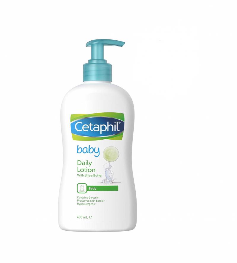 Sữa dưỡng ẩm Cetaphil Baby Daily Lotion không chứa paraben, dầu khoáng, colorant, hương nhân tạo và đã được kiểm nghiệm và chứng nhận về độ an toàn và được các bác sĩ da liễu khuyên dùng.