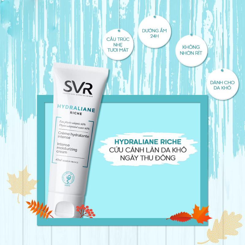 Kem dưỡng ẩm dành cho mặt và cổ SVR HYDRALIANE Riche (40ml)