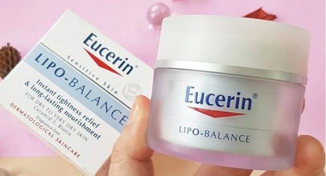 Kem dưỡng ẩm sâu Eucerin Lipo Balance