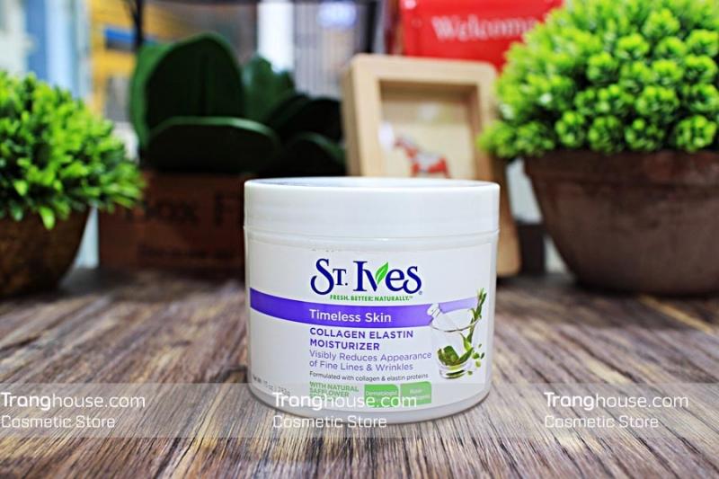ST. IVES Timeless Skin Collagen Elastin Moisturizer