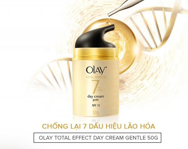 Kem dưỡng ban ngày Olay Total Effects