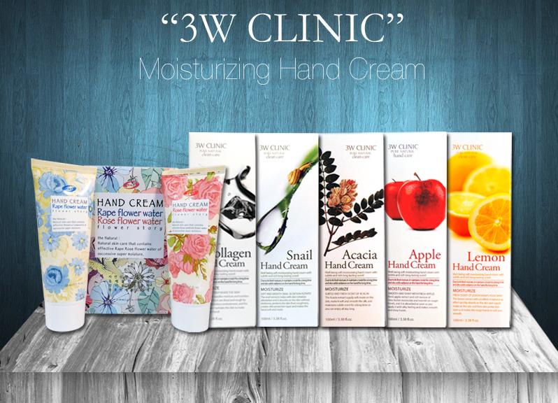 Kem Dưỡng Da Tay 3W Clinic