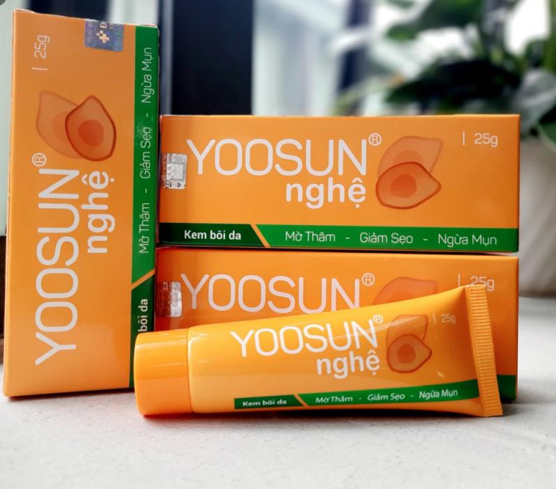 Kem dưỡng da tinh chất nghệ YOOSUN dịu da, ngừa sẹo, ngăn ngừa mụn, xóa thâm