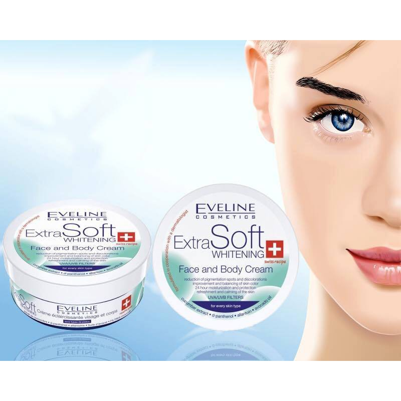 Eveline Extra Soft Face and Body Whitening Cream