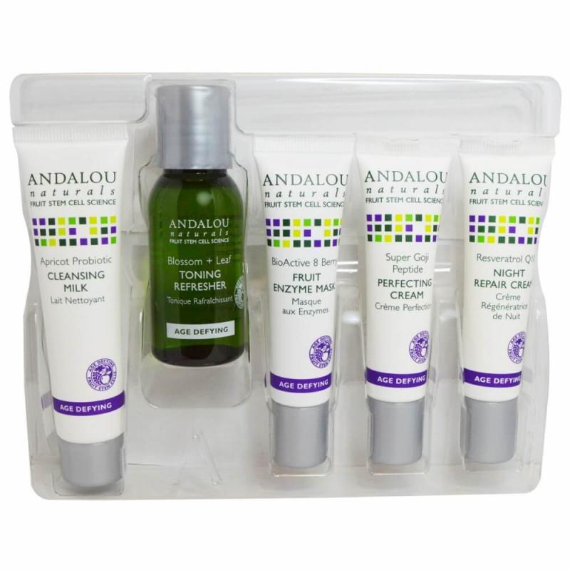 Kem dưỡng đêm chống lão hóa Andalou Naturals, Night Repair Cream, Resveratrol Q10