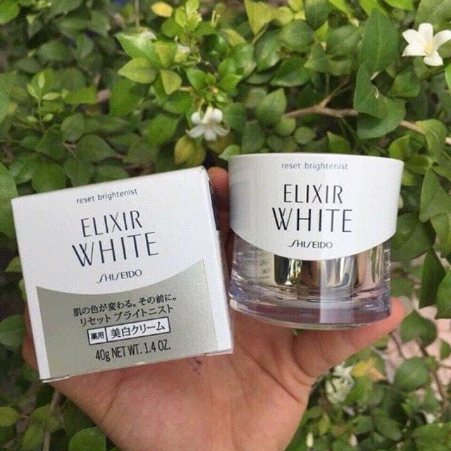 Kem dưỡng đêm Shiseido Elixir White Reset Brightenist