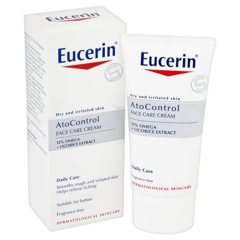 Kem dưỡng giảm viêm ngứa Eucerin Ato Control 12% Omega Cream 50ml