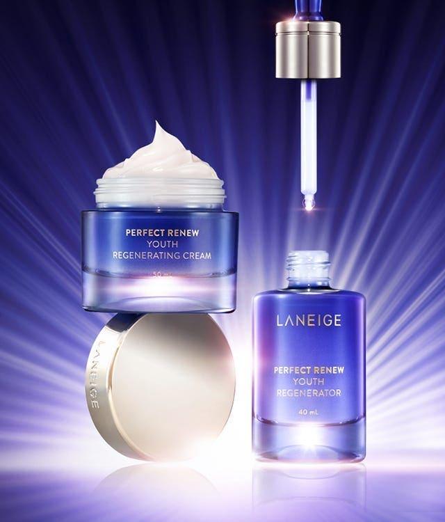 Kem dưỡng giúp ngăn chặn các dấu hiệu lão hóa sớm Laneige Perfect Renew Youth Regenerating Cream