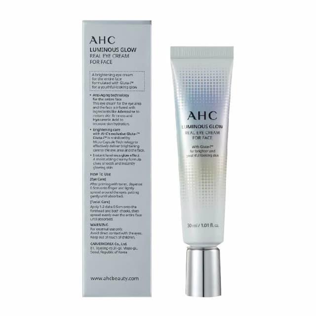 Kem dưỡng mắt AHC Luminous Glow Eye Cream for Face