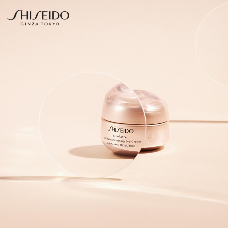 Kem dưỡng mắt Shiseido Benefiance Wrinkle Smoothing Eye Cream