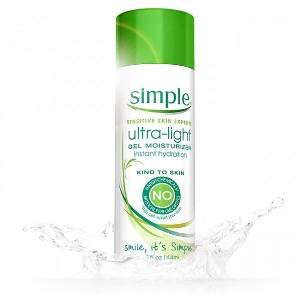 Kem dưỡng Simple Ultra - Light Gel Moisturizer