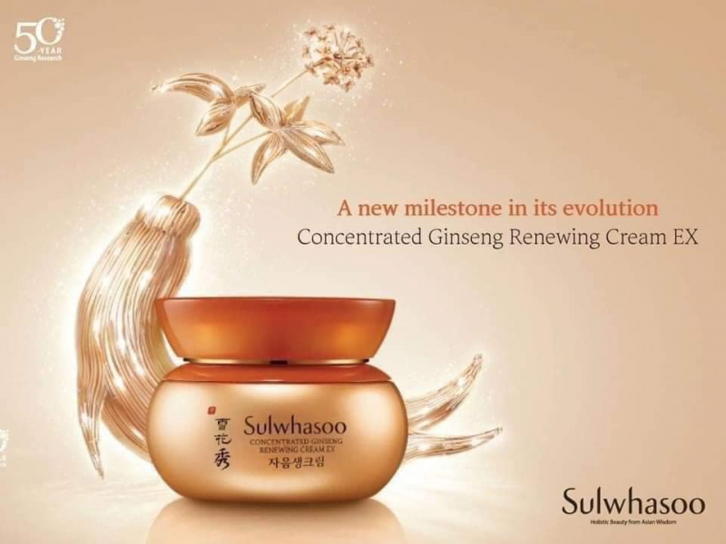 Kem dưỡng Sulwhasoo Concentrated Ginseng Renewing Cream Ex