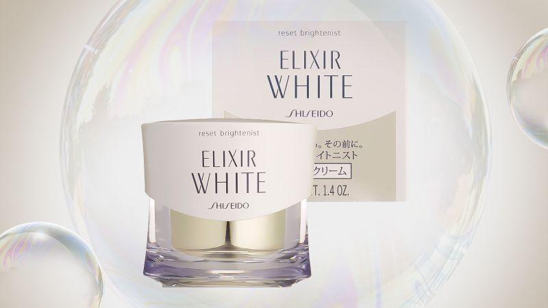 Kem dưỡng tái tạo da ban đêm Shiseido Elixir White Reset Brightenist