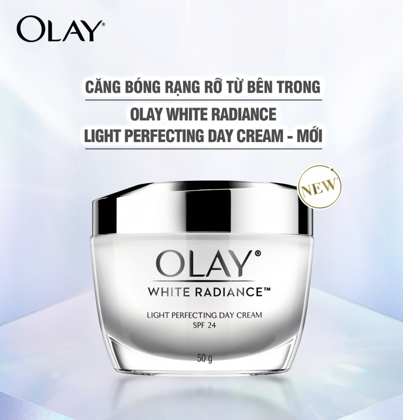 Kem dưỡng trắng da ban đêm Olay White Radiance Light Perfecting Night Cream 50g