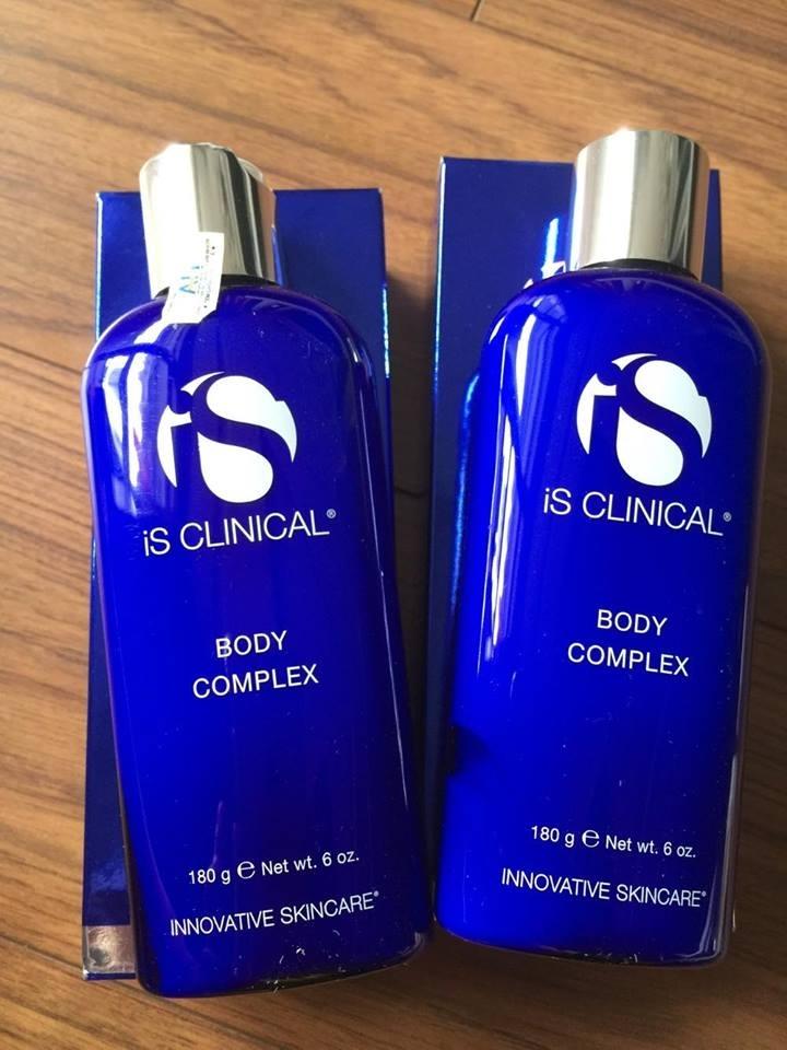 Kem dưỡng trắng da toàn thân iS Clinical Body Complex rất được chị em phụ nữ tin dùng