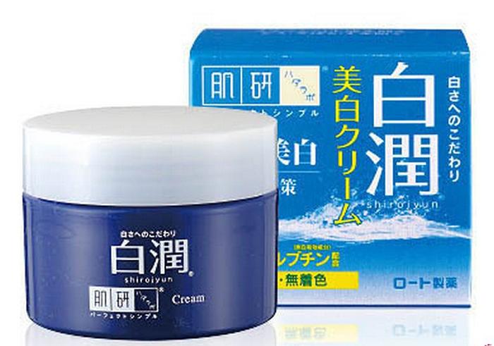 Kem dưỡng trắng Hada Labo Shirrojyun Cream