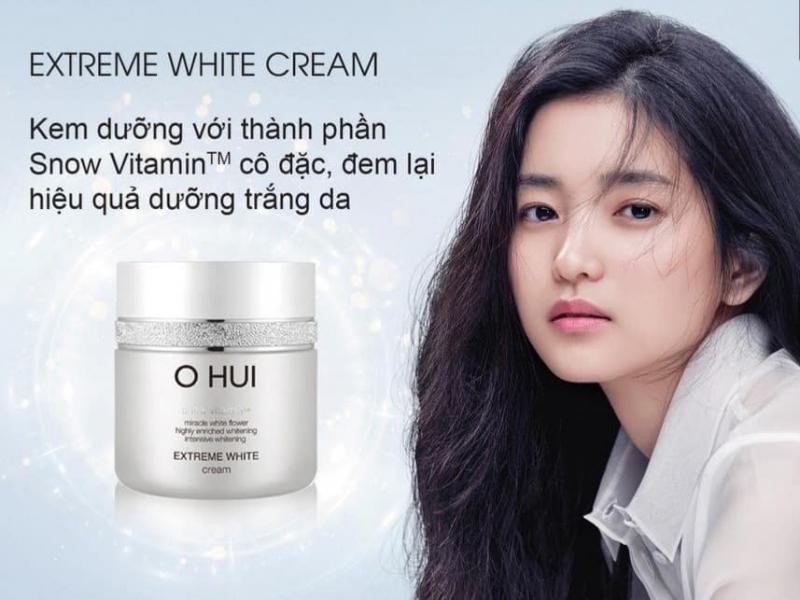 Kem dưỡng trắng OHUI Extreme White Cream