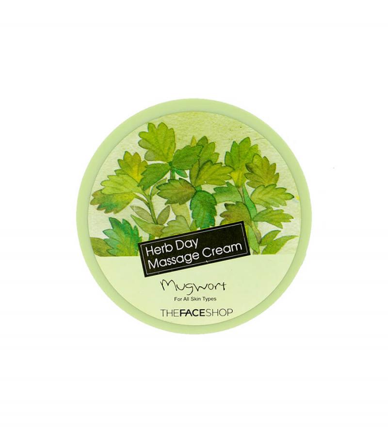 Kem Herb day Massage Cream Thefaceshop