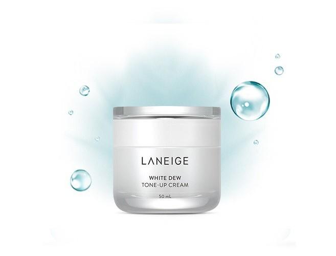 Kem hiệu chỉnh nâng tông làm trắng da Laneige White Dew Tone-Up Cream mẫu mới