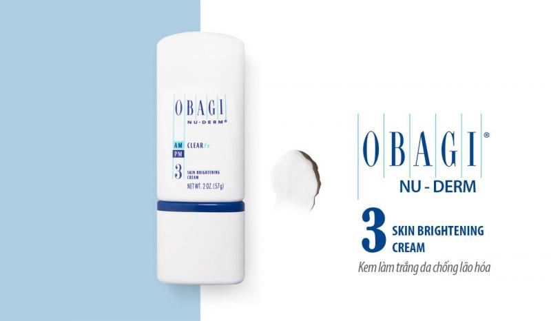 Kem làm trắng da chống lão hóa Obagi Nu-Derm Clear Fx
