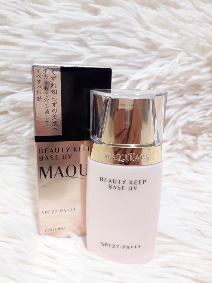 Kem lót Maquillage Shiseido Beauty Keep Base UV