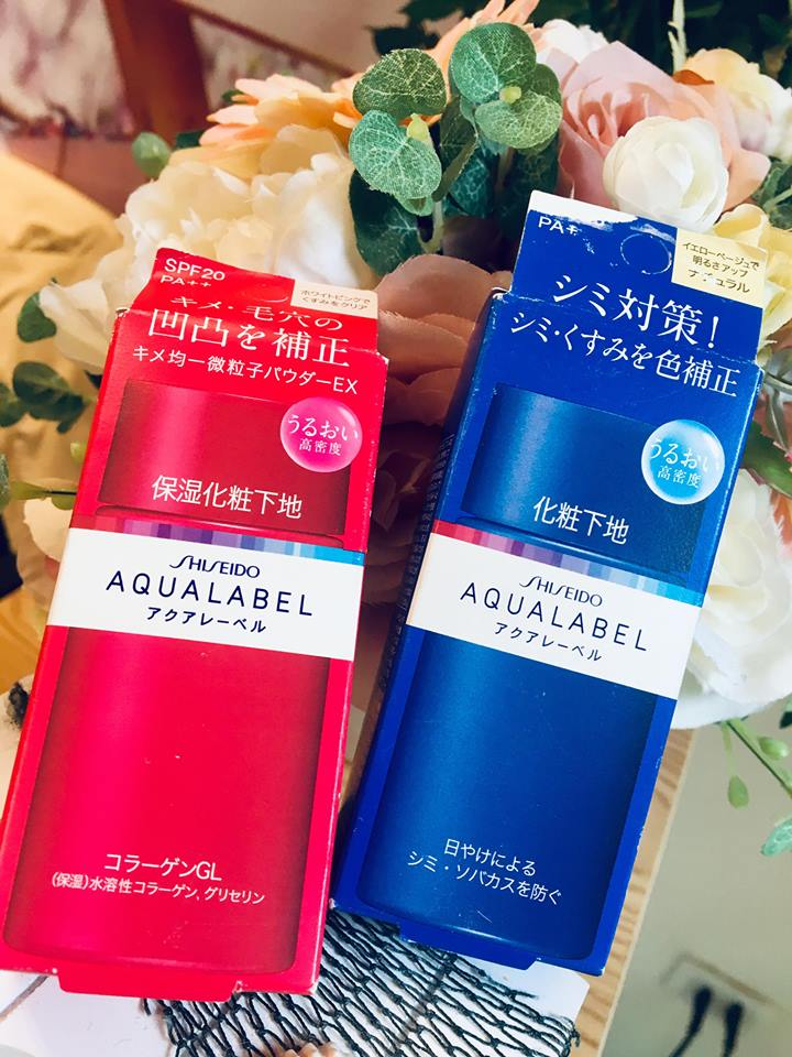 Kem lót Shiseido Aqualabel SPF 25 PA