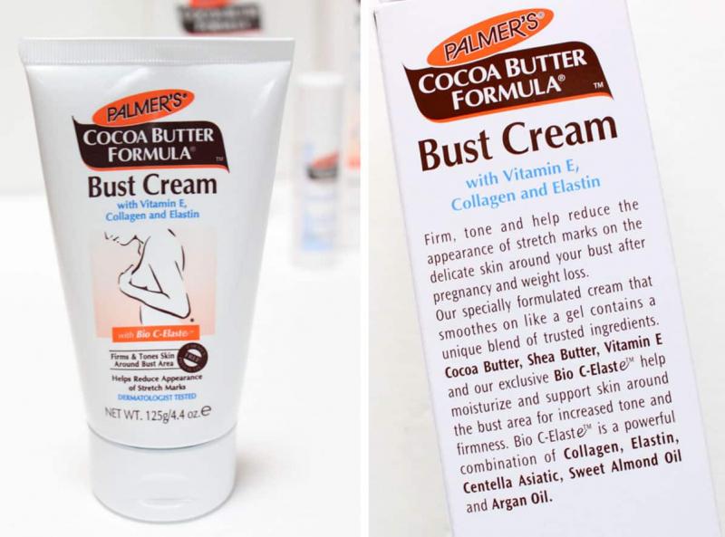 Palmer's Cocoa Butter Formula Bust Cream là công thức đặc biệt giúp làm săn chắc và mịn màng làn da vùng ngực sau khi sinh con hoặc giảm cân