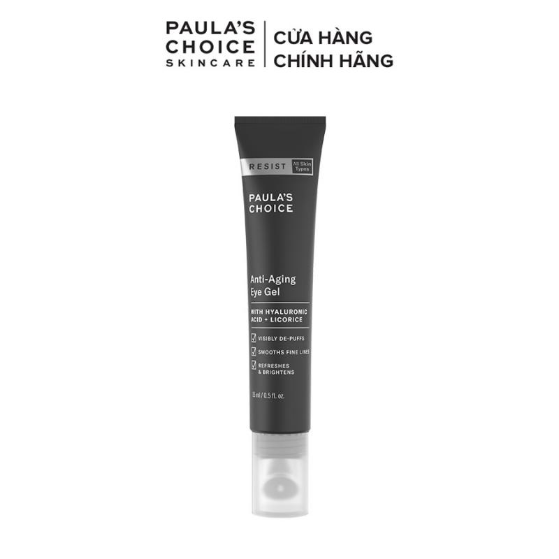 Kem mắt xóa nhăn, ngăn ngừa quầng thâm, kèm đầu massage Paula's Choice Resist Anti-Aging Eye Gel