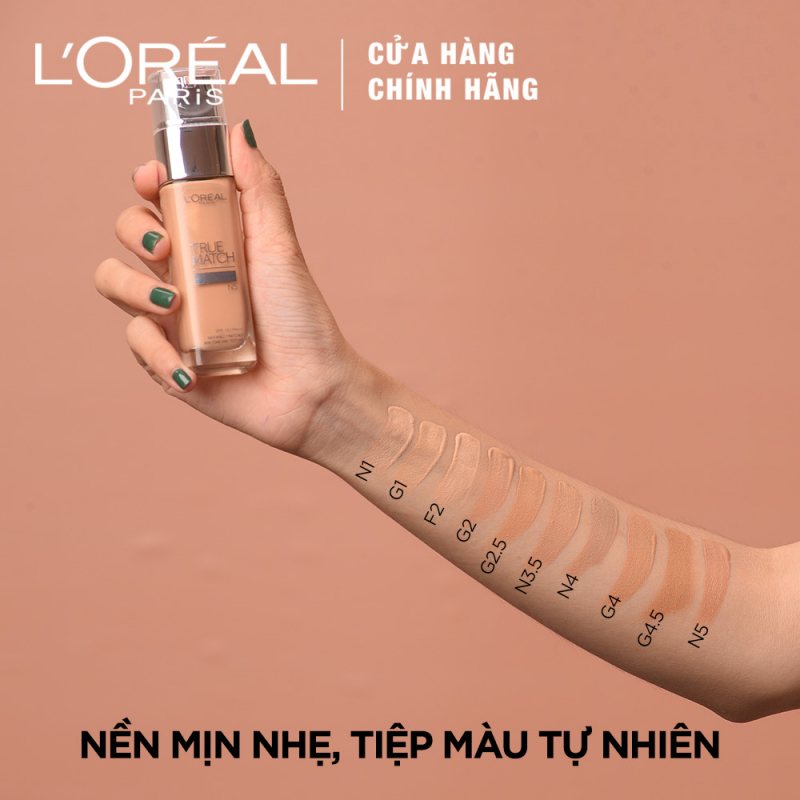 Kem nền Loreal True Match Liquid
