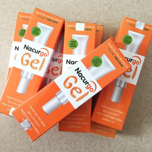 Kem nghệ trị mụn, thâm tốt –  Nacurgo gel