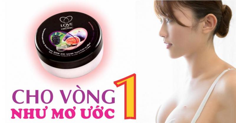 kem nở ngực Love 2 Mix đánh bật mọi buồn phiền bằng cách tác động trực tiếp cho bạn bộ ngực như ý muốn.
