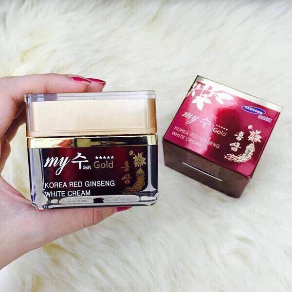 Kem Sâm Hàn Quốc My Gold Korea Red Ginseng White Cream