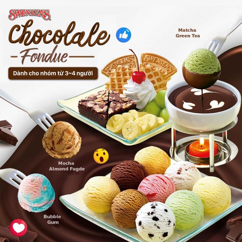 Nếu bạn là fan của những viên kem ngọt ngào mát lạnh thì quán kem Swensen's  là địa chỉ khó lòng bỏ qua được.