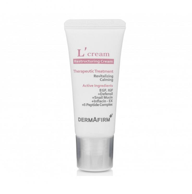 Kem tái tạo da, làm lành vết thương sau trị liệu Dermafirm L Cream