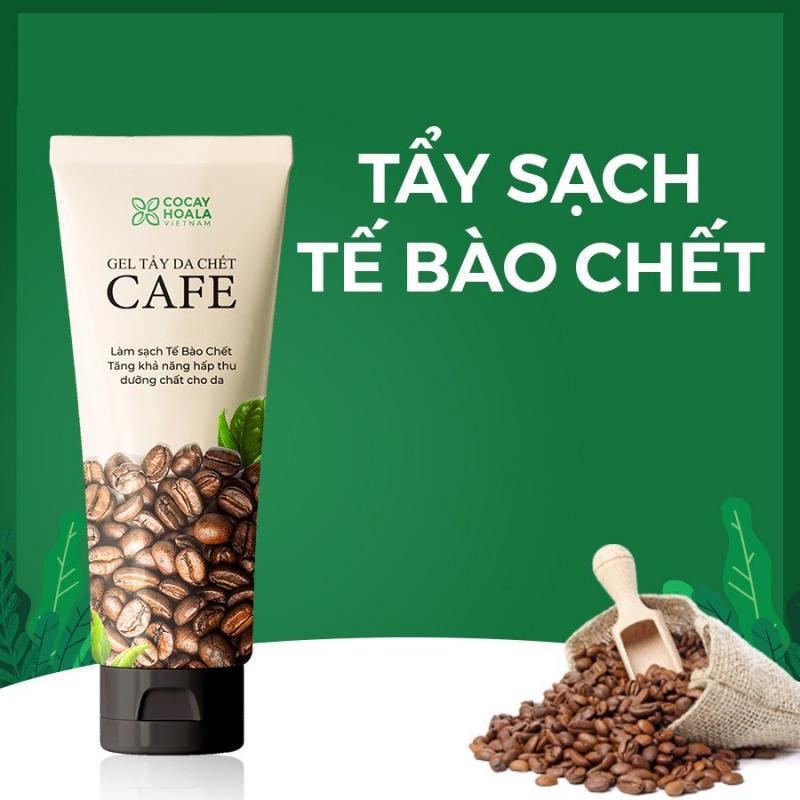 Kem tẩy da chết dành cho mặt chiết xuất cà phê Cocayhoala