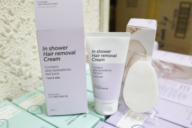 In Shower Hair Removal Cream The Face Shop