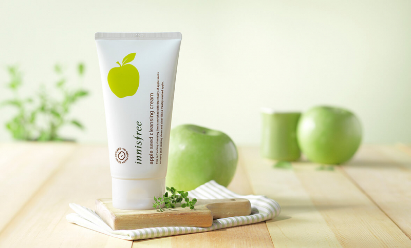Kem tẩy trang Innisfree Apple Seed Cleansing Cream