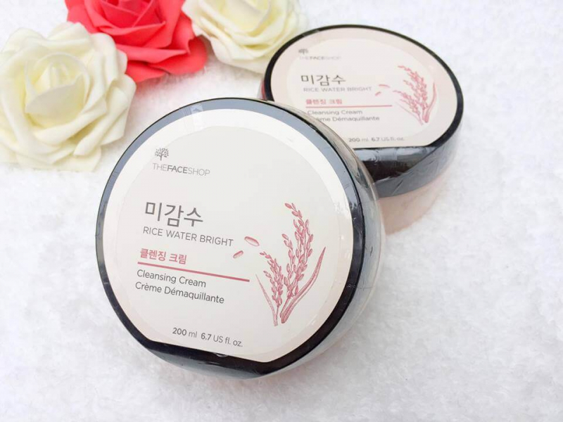 Kem tẩy trang Rice Water Bright Cleansing Cream