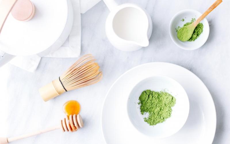 Kem trà xanh giúp giải độc và làm sạch cho da