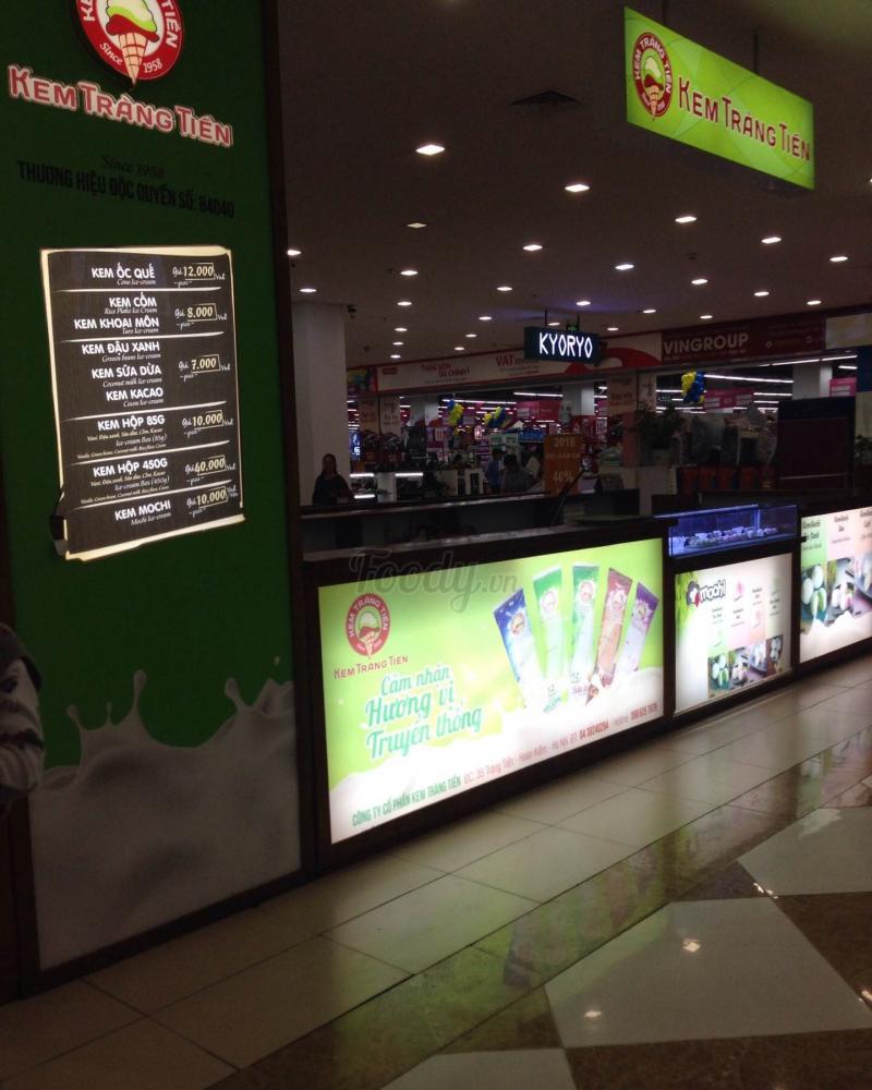 Quầy kem Tràng Tiền tại Times City