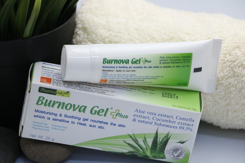 Gel Trị Bỏng Burnova Gel Plus