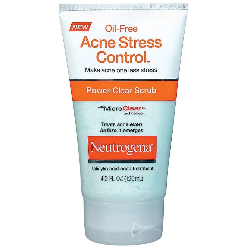 Kem trị mụn Neutrogena Oil-Free Acne Stress Control Power