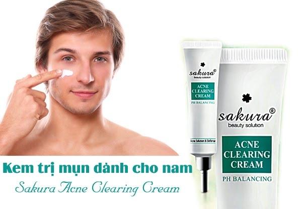 Một sản phẩm trị mụn dành cho nam giới