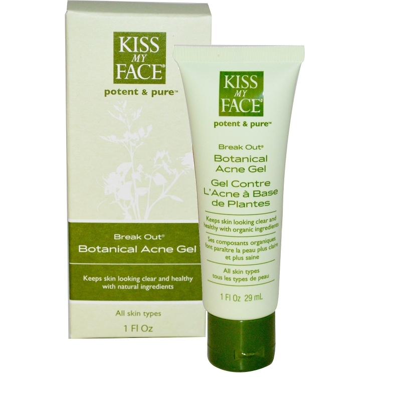 Kiss My Face Breakout – Botanical Acne Gel