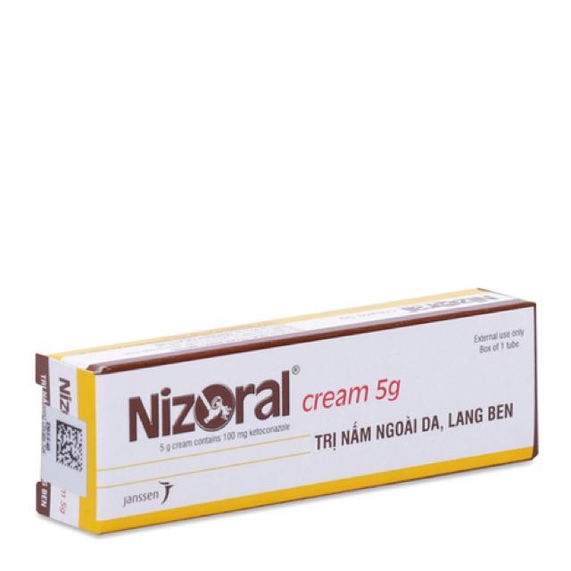 Kem trị nấm ngoài da, lang ben Nizoral Cream