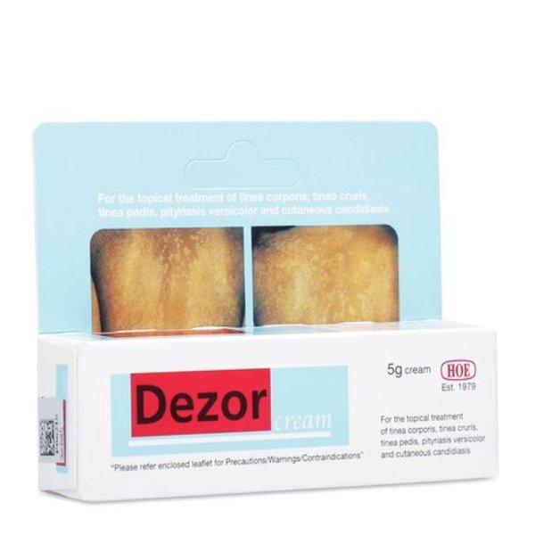 Kem trị nấm toàn thân, nấm chân, nấm bẹn Dezor Cream