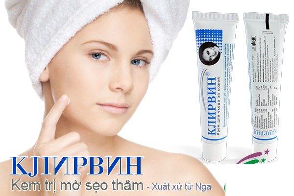 Kem trị sẹo Klirvin – Nga