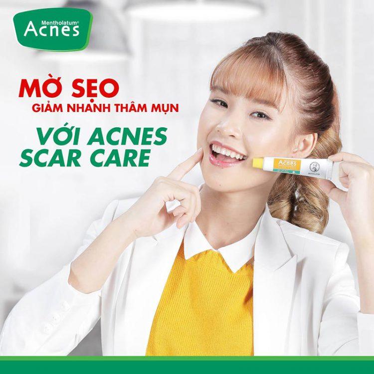 Kem trị thâm mụn Acnes Scar Care